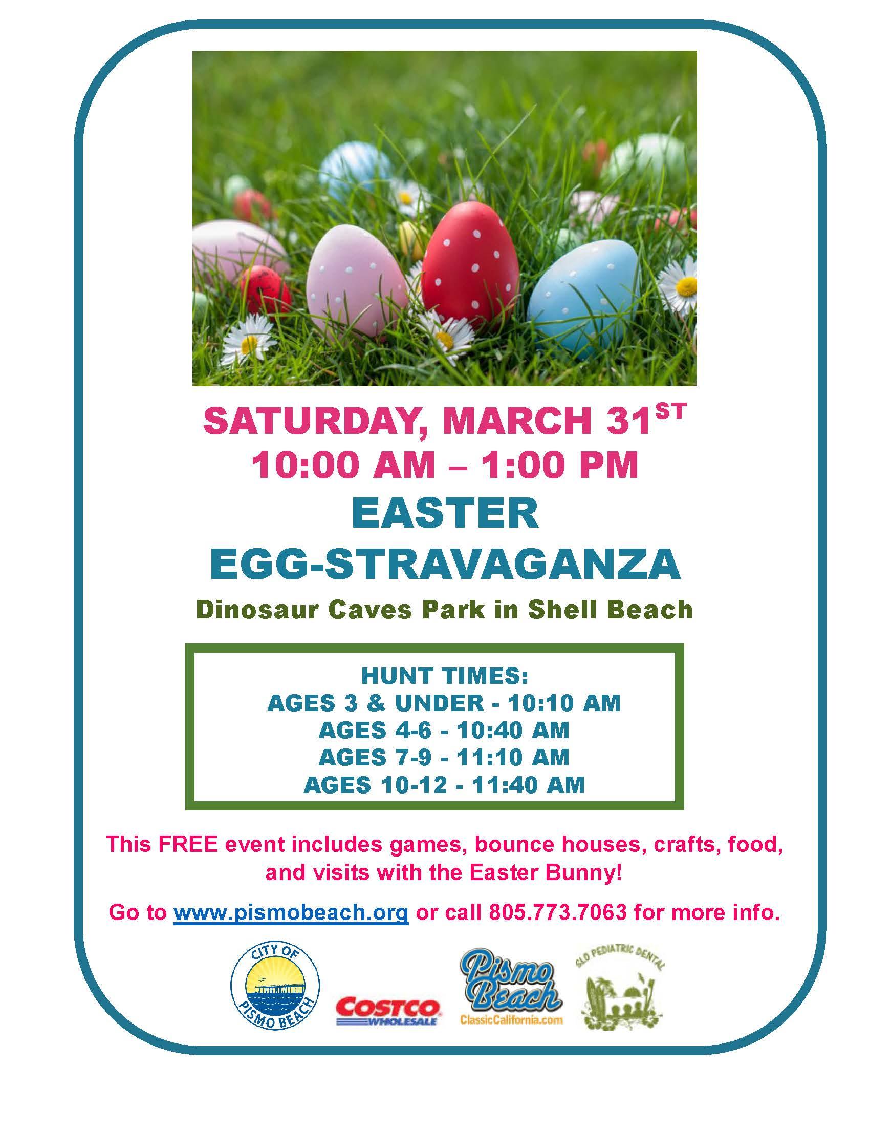 Egg-Stravaganza Flyer