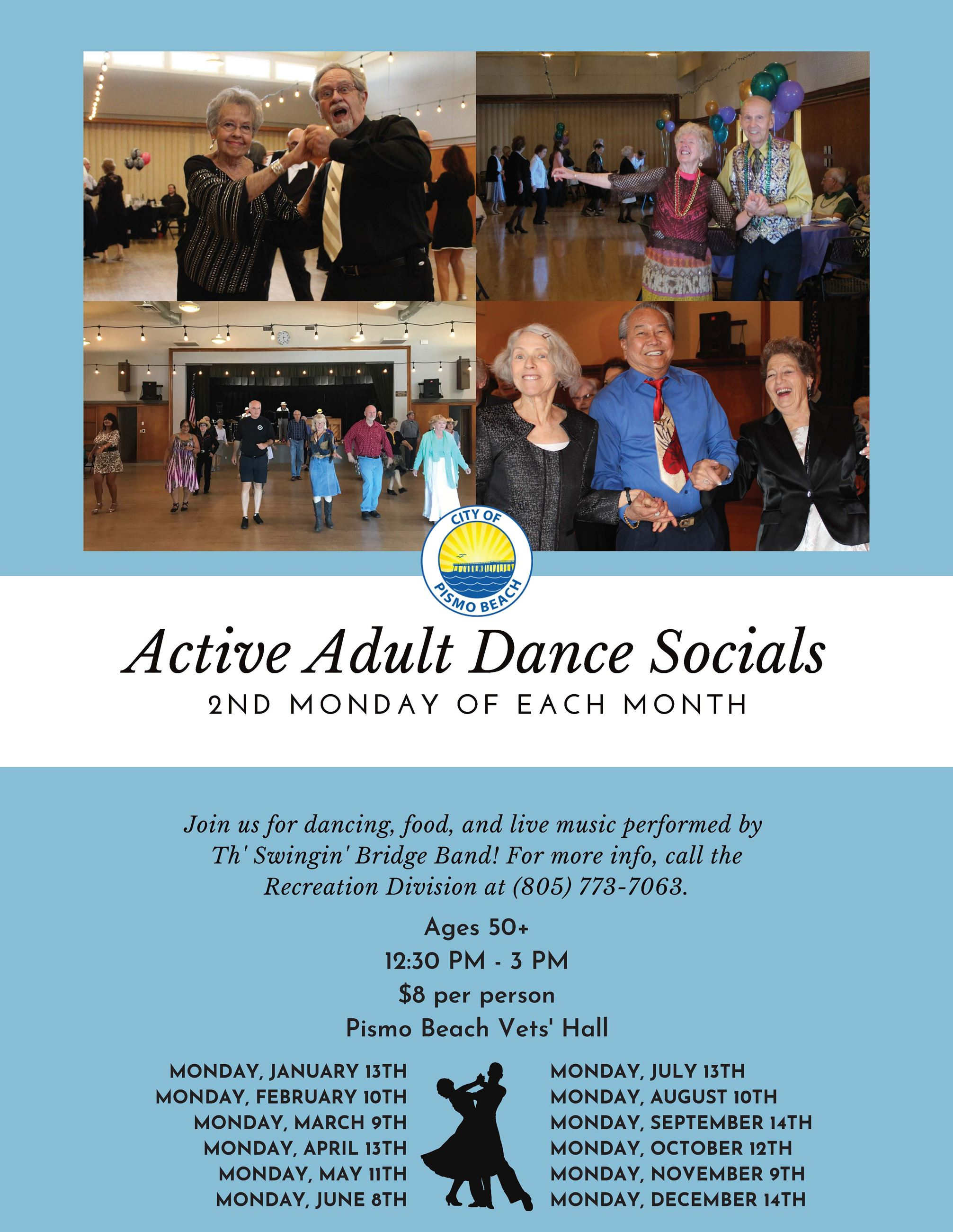 Active Adult Dance Socials 2020